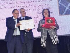 تكريم الأخت سمية ادريسي بحضور السيد الوزير و السيد رئيس المجلس -4-